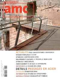 AMC, le moniteur architecture. n° 165