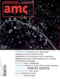 AMC, le moniteur architecture. n° 171