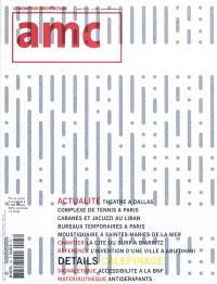 AMC, le moniteur architecture. n° 195
