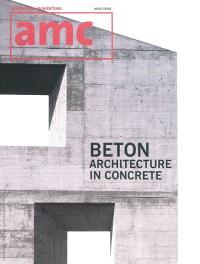 AMC, le moniteur architecture, hors série, Beton : architecture in concrete