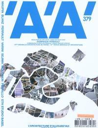 Architecture d'aujourd'hui (L'). n° 379