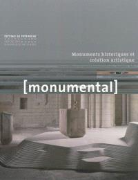 Monumental. n° 1 (2012), Monuments historiques et création artistique