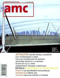 AMC, le moniteur architecture. n° 125