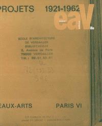 EAV, Ecole d'architecture de Versailles. n° 9
