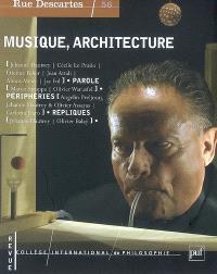 Rue Descartes. n° 56, Musique, architecture