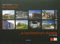 Du croquis... à l'architecture durable : SAGL à l'ouvrage : Gallois & Lantez