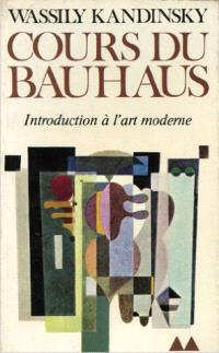 Cours du Bauhaus