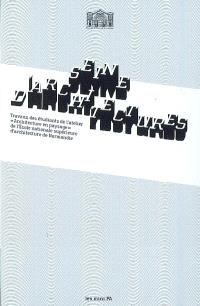 Seine d'architectures : travaux des étudiants de l'atelier Architecture en paysage de l'Ecole nationale supérieure d'architecture de Normandie : exposition, Paris, Pavillon de l'Arsenal, du 2 avril au 3 mai 2009