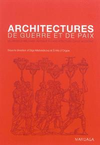 Architectures de guerre et de paix : du modèle militaire antique à l'architecture civile moderne