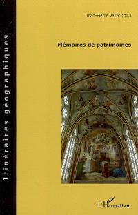 Mémoires de patrimoines