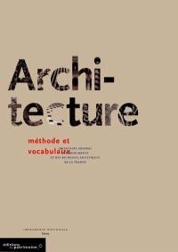 Architecture : vocabulaire typologique