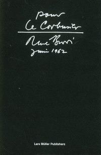 Pour Le Corbusier : juin 1962