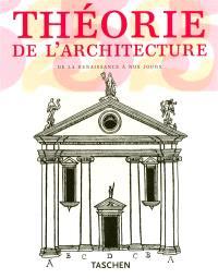 Théorie de l'architecture : de la Renaissance à nos jours