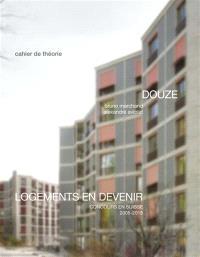 Logements en devenir : concours en Suisse 2005-2015