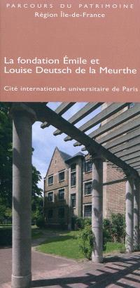 La Fondation Emile et Louise Deutsch de la Meurthe : Cité internationale universitaire de Paris