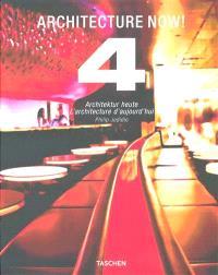 Architecture now ! : houses = Architektur Heute = L'architecture d'aujourd'hui. Volume 4