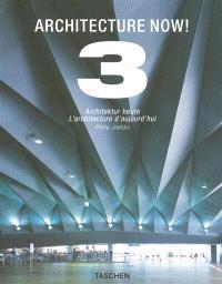 Architecture now ! : houses = Architektur Heute = L'architecture d'aujourd'hui. Volume 3