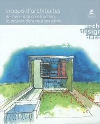 Croquis d'architectes : de l'idée à la construction, la maison dans tous ses états