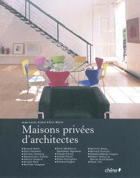 Maisons privées d'architectes