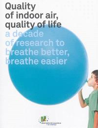 Quality of indoor air, quality of life : a decade of research to breathe better, breathe easier