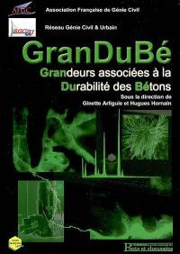GranDuBé : grandeurs associées à la durabilité des bétons