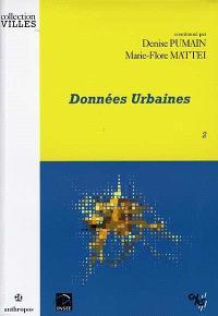 Données urbaines. Volume 2
