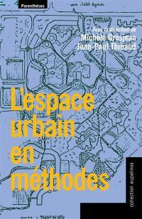 L'espace urbain en méthodes