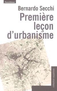 Première leçon d'urbanisme
