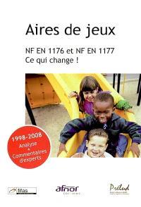 Aires de jeux : NF EN 1176 et NF EN 1177, ce qui change !