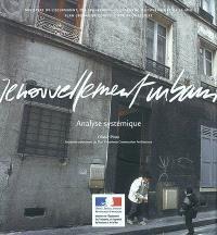 Renouvellement urbain : analyse systémique