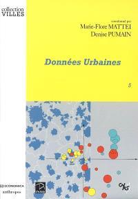 Données urbaines. Volume 5