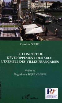 Le concept de développement durable : l'exemple des villes françaises
