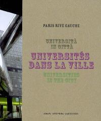 Universités dans la ville = Università in citta = Universities in the city