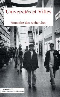 Universités et villes : annuaire des recherches