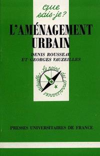 L'aménagement urbain