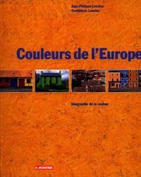 Les couleurs de l'Europe : géographie de la couleur
