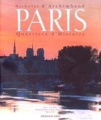 Paris : quartiers d'histoire