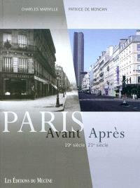 Paris avant, après : 19e siècle-21e siècle