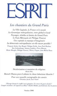 Esprit. n° 348, Les chantiers du Grand Paris