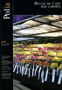 Polia : revue de l'art des jardins. n° 6