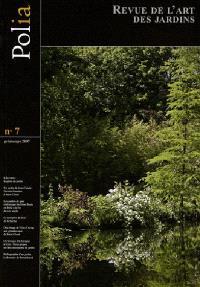 Polia : revue de l'art des jardins. n° 7