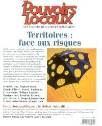 Pouvoirs locaux. n° 1 (2003), Territoires, face aux risques