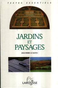 Jardins et paysages