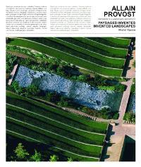 Allain Provost paysagiste : Paysages inventés 1964-2004