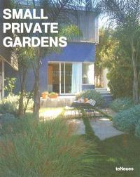 Small private gardens