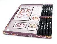 Inspiration déco : 100 lettres détachables à colorier et prêtes à encadrer !