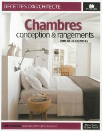 Chambres : conception & rangements : plus de 35 exemples