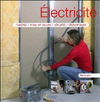 Electricité : matériel, mise en oeuvre, sécurité, dépannages