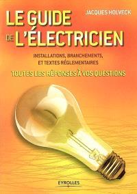 Le guide de l'électricien