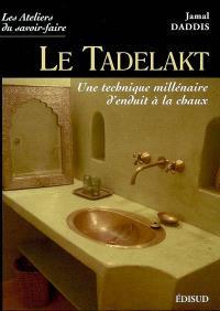 Le tadelakt : une technique millénaire d'enduit à la chaux
